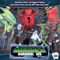 The Menace Among Us Cover Artwork