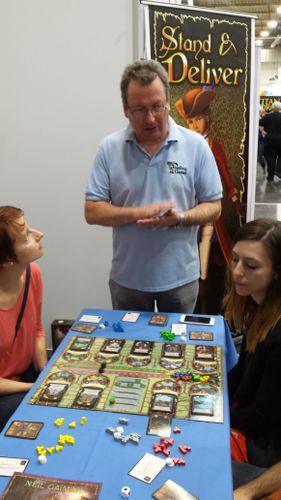 Board Game Designer: Martin Wallace