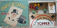 Board Game: Edgar Bergen & Charlie McCarthy's Game of Topper