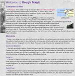 RPG Item: Rough Magic