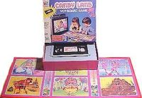 Board Game: Candy Land VCR Board Game