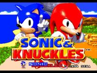 Video Game: Sonic & Knuckles