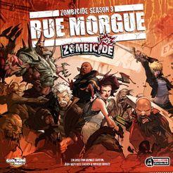 Zombicide Season 3: Rue Morgue Cover Artwork