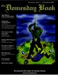 Issue: The Domesday Book (Volume 1, Issue 3 - Nov 2008)