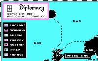 Video Game: Computer Diplomacy