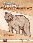RPG Item: Animal Archives Vol. 1: North American Prehistoric Animals