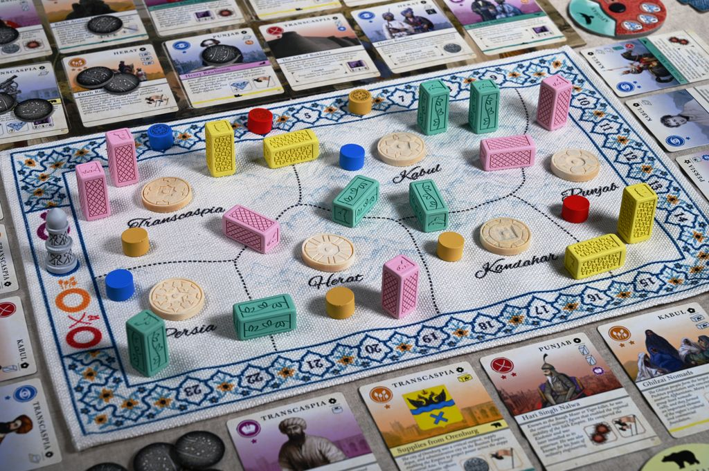 Board Game: Pax Pamir: Second Edition