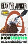 RPG Item: Breachworld Character Folio #2: Elak the Junker (Savage Worlds)