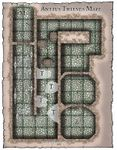 RPG Item: Antius Thieves' Maze Map
