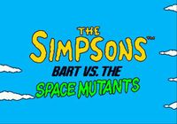 Video Game: Bart vs. the Space Mutants