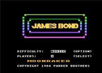Video Game: James Bond 007