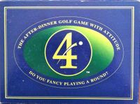 Board Game: 4: The After Dinner Golf Game with Attitude