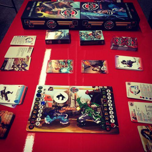Board Game: Yomi: Round 1