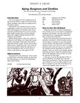 RPG Item: Serpents & Simians