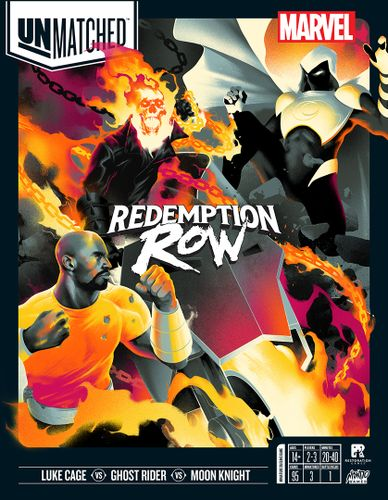 Board Game: Unmatched: Redemption Row