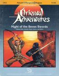 RPG Item: OA2: Night of the Seven Swords