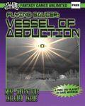 RPG Item: Flying Saucer: Vessel of Abduction