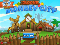 Video Game: Bloons Monkey City