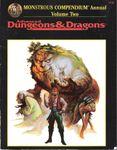 RPG Item: Monstrous Compendium Annual: Volume Two