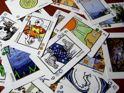 Board Game: Decktet