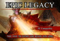 RPG Item: Epic Legacy Player's Guide