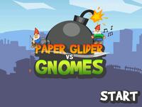 Video Game: Paper Glider vs. Gnomes