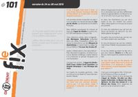 Issue: Le Fix (Issue 101 - May 2013)