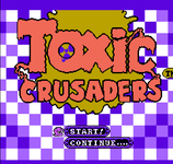 Video Game: The Toxic Crusaders