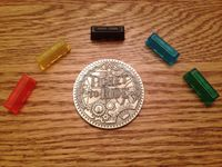 Board Game Accessory: Ticket to Ride: Translucent Trains