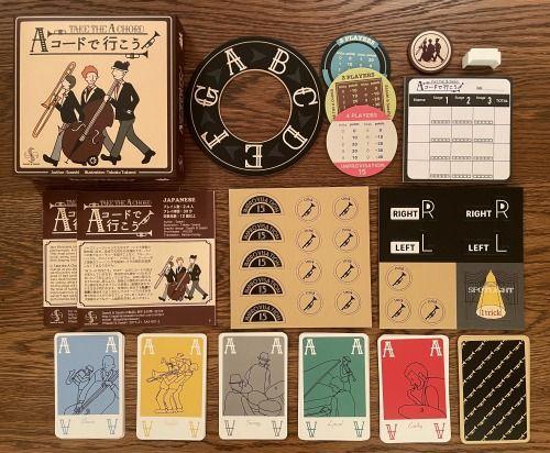 """Board Game: Take The """"A"""" Chord"""