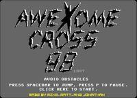 Video Game: Awexome Cross 98
