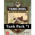 Board Game: Tank Duel: Tank Pack #1