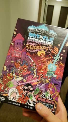 Board Game: Epic Spell Wars of the Battle Wizards: Panic at the Pleasure Palace