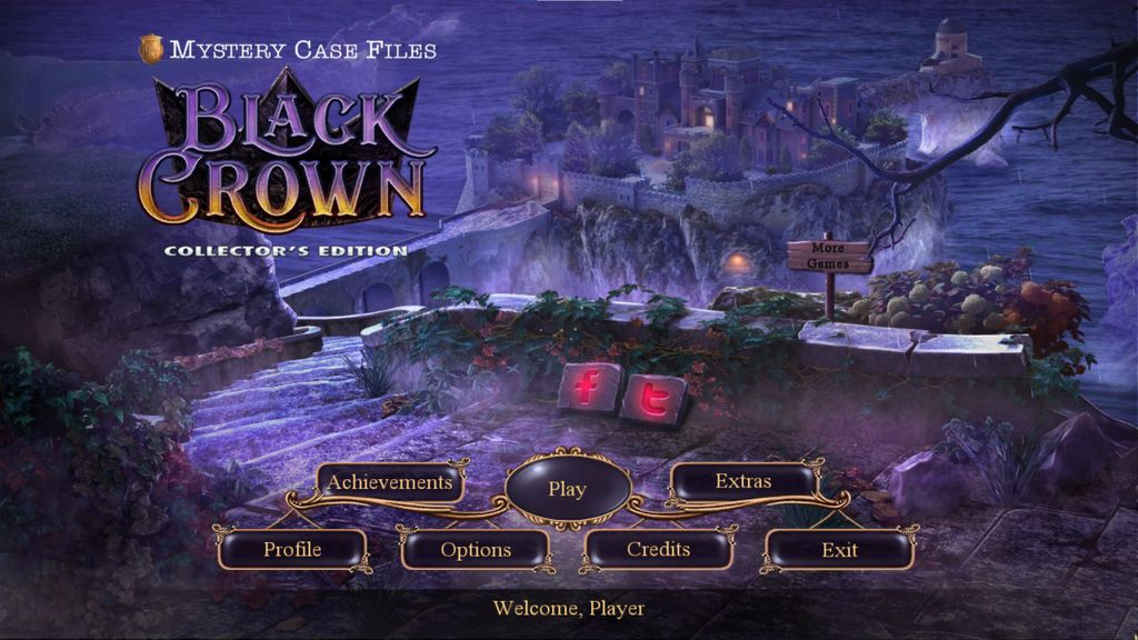 Video Game: Mystery Case Files: Black Crown