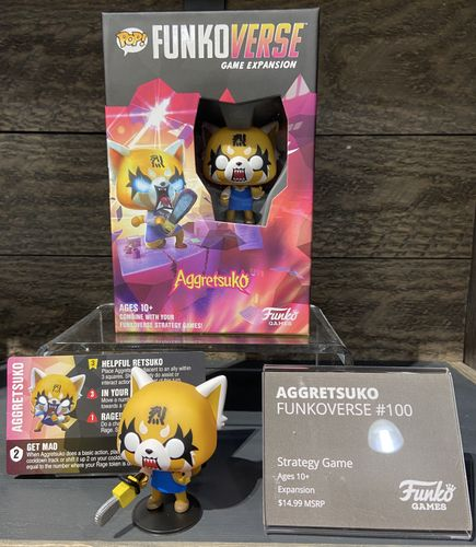 Board Game: Funkoverse Strategy Game: Aggretsuko 100