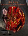RPG Item: Alpha: Shadow Sprawl Supplement