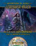 RPG Item: Adventures in Aldea: A Wanton Curse