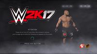 Video Game: WWE 2K17