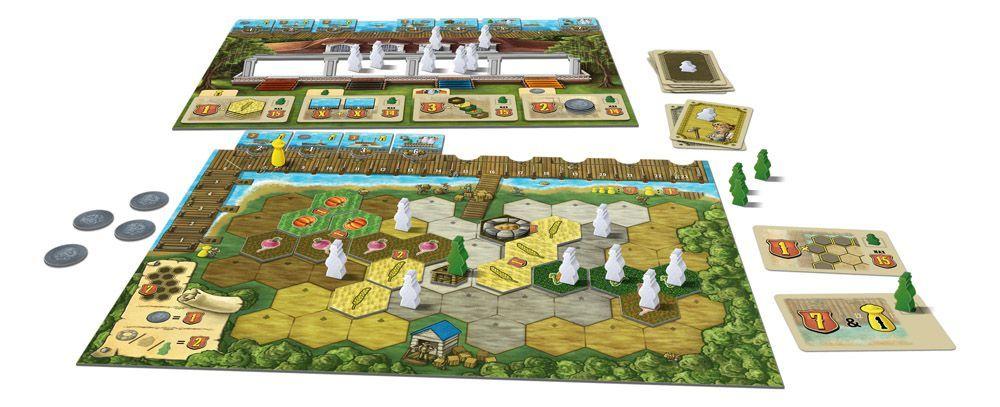 Board Game: Riverboat