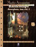 RPG Item: Battlemaps: Floorplans, Inn Vol. 1