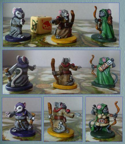 Board Game: Mice and Mystics