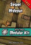 RPG Item: Heroic Maps Modular Kit: Sewer Hideout