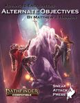 RPG Item: Advanced Encounters: Alternate Objectives (PF2)