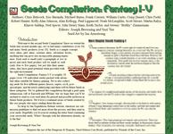 RPG Item: Seeds Compilation: Fantasy I-V