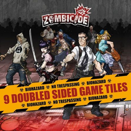 Zombicide 8x Tile Clips