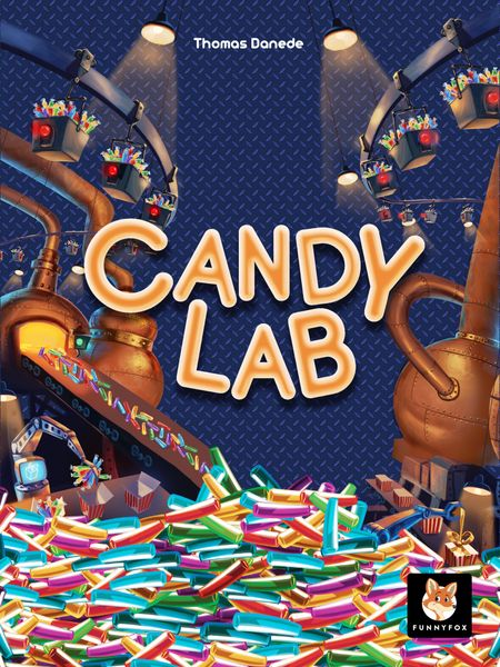 Candy Lab, Funnyfox, 2020 — front cover (image provided by the publisher)