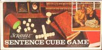Board Game: Scrabble Sentence Cube Game