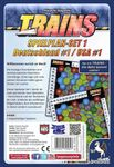 Board Game: Trains: Map Pack 1 – Germany/Northeastern USA