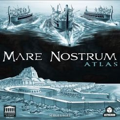 Mare Nostrum: Empires – Atlas Expansion Cover Artwork