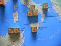 Pompey's units in Italy and Africa. Starting setup.